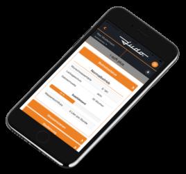 JU-Control App: Angabe des Betriebsstatus