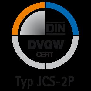 DIN-DVGW CERT Modell JCS-2P