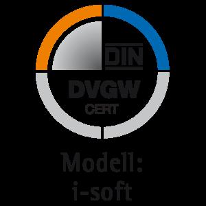 DIN-DVGW CERT Modell i-soft